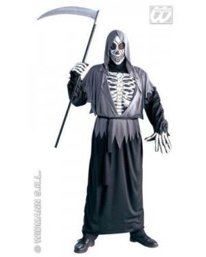 Costume Grim Reaper (Tunica Con Cappuccio Cintura