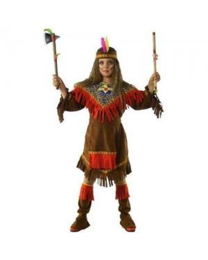 CLOWN 24708 costume indiana 8 anni