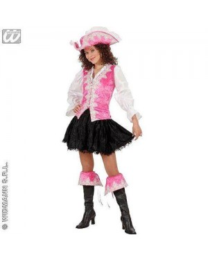 Costume Piratessa Regale Rosa L In Velluto