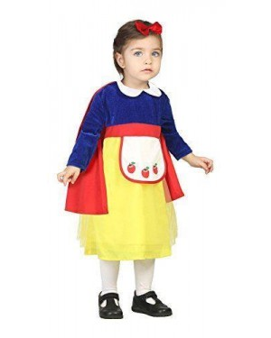 ATOSA 24413 costume principessa favola 0-6 mesi biancaneve
