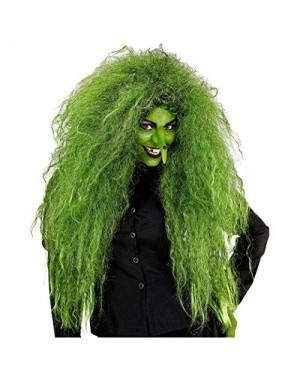 WIDMANN 02083 parrucca verde selvaggia strega madre natura
