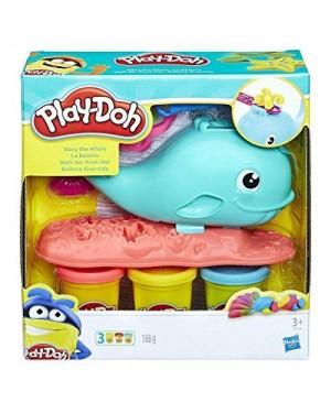 HASBRO E0100EU4 playdoh balena colorata
