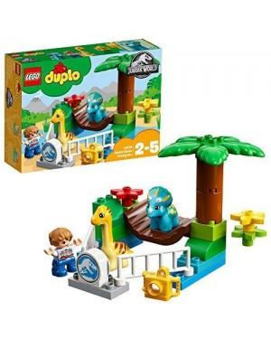 LEGO 10879 lego duplo jurassic world zoo giganti gentili