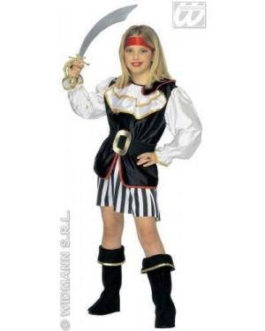 Costume Piratessa Con Accessori 8/10 Cm 140