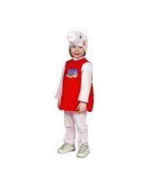 Costume Peppa Pig 3/4 Anni