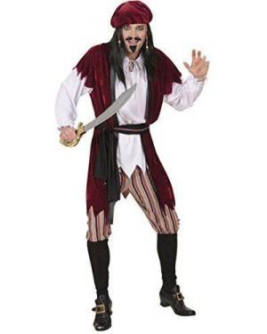 Costume Pirata Dei Caraibi M Camicia Con Gilet-Pan