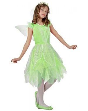 Costume Fata Verde, T- 1 3/4 Anni