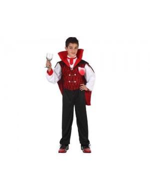 Costume Vampiro Con Cravatta T-4 Xxl