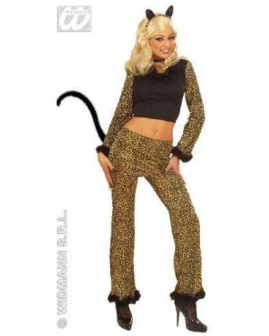 WIDMANN 5643L costume leopardo teenager con accessori@