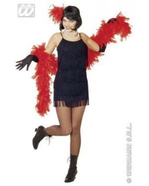Costume Charleston L Con Fascia Piume