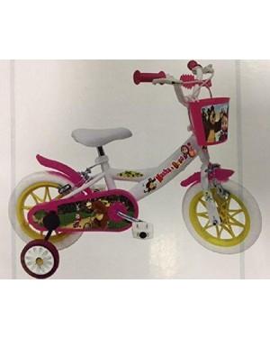 MONDO 25296 bicicletta 12 masha e l'orso 3/5 anni