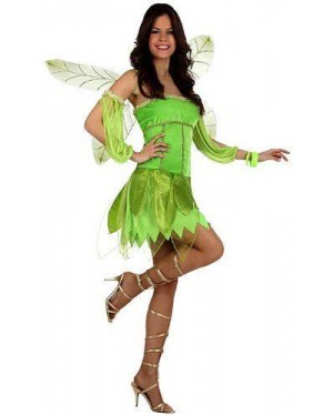 Costume Fata Autunno Verde T-2