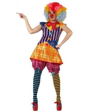 Costume Pagliaccio Donna T-2