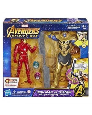 HASBRO E05591030 avengers pers 15cm infinity iron man vs thanos