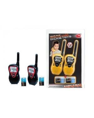 DICKIE 201118176 dickie set 2 walkie talkie 80 mt