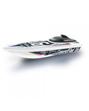 RE.ELTOYS 1476 motoscafo r/c destriero sport blu
