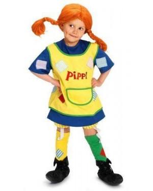 MICKI 44360005 costume pippi calzelunghe 3/4 con accessori