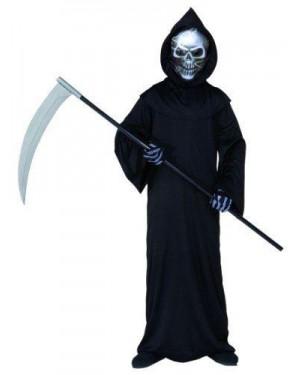 WIDMANN 55507 costume grim reaper morte 8/10 cm 140
