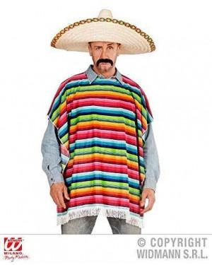 WIDMANN  costume messicano poncho adulto tg unica