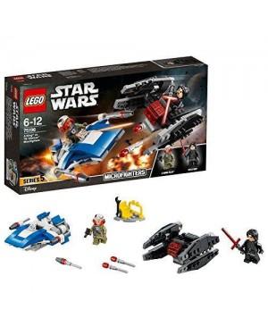 LEGO 75196 lego star wars a-wing# contro microfighter tie
