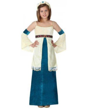 Costume Dama Medievale , Bambina, T. 2