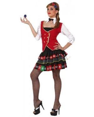 Costume Donna Roulette T-2