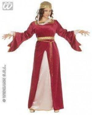 Costume Dama Di Corte M Con Accessori