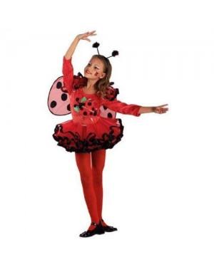 Costume Coccinella Ballerina 2 Anni