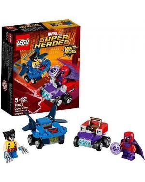 LEGO 76073 lego marvel mighty micros wolverine vs magneto
