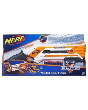 hasbro a1691e35 nerf nstrike elite rough cut 2x4 8pz