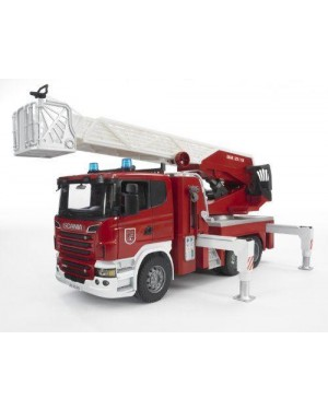 BRUDER 03590 bruder emerg scania autopompa pompieri