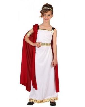 ATOSA 06614 costume da romana bambina t-4 10/12