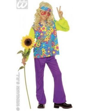 Costume Hippie Bambino 8/10 Cm 140