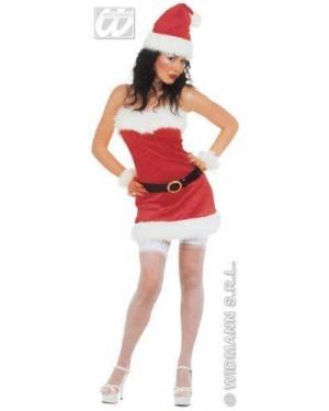 Costume Mamma Natale M Sexy In Flanella