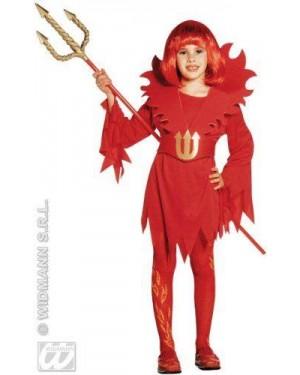 Costume Diavolessa 8/10 Cm 140