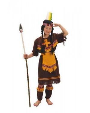 Costume Indiana Lusso 8 Anni Panno