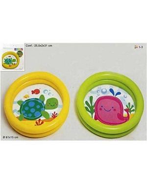 INTEX 59409 INTEX PISCINA BABY FONDO ANIMALETTI 61X15