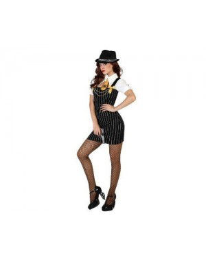 Costume Gangster Sexy, Adulto T1 Xs\S