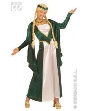 Costume Regina Del Rinascimento S Velluto Raso