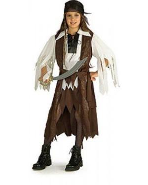 RUBIES 881093 costume piratessa 8/10 dei caraibi