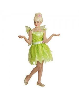 WIDMANN 05796 costume fatina verde 5/7 128cm