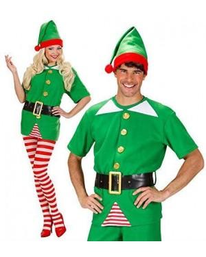 WIDMANN 75922 costume elfo m aiutante babbo natale