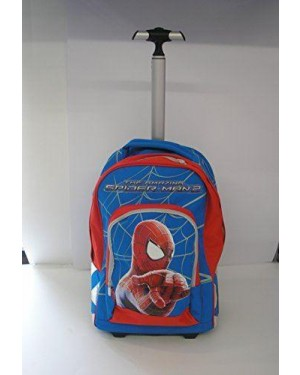 seven 204001403 zaino big trolley spiderman seven