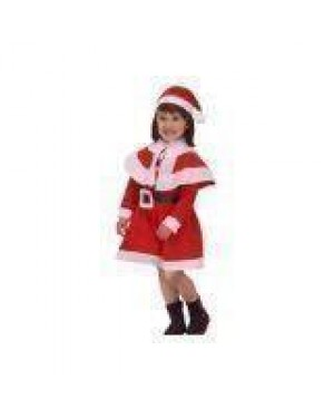 Costume Mamma Natale Bambina T-4