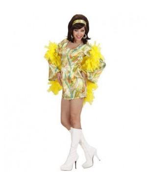 Costume 70S Mod Chick M Ass.In 3 Colori Vestito