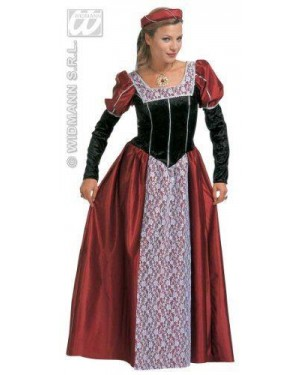 Costume Castellana Xl Medievale