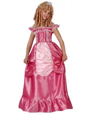 Costume Principessa Rosa, Bambina T4