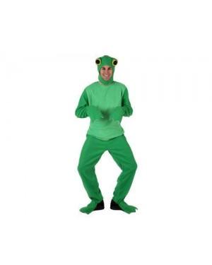 Costume Da Rana Giallo Adulto M-L