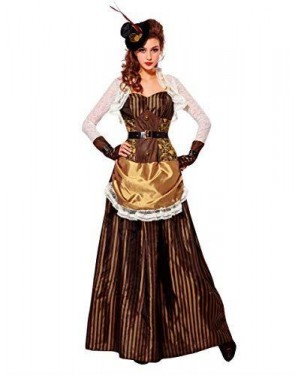 WIDMANN 07741 costume steampunk donna s gonna lunga