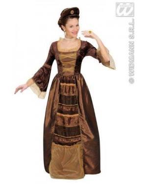 Costume Baronessa Barocca M Vestito Con Sottog